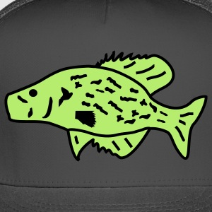 Crappie White Crappie Specks White Perch Croppie Papermouth Slabs Strawberry Bass Speckled Bass Sac-au-lait Calico Bass Oswego Bass - Trucker Cap