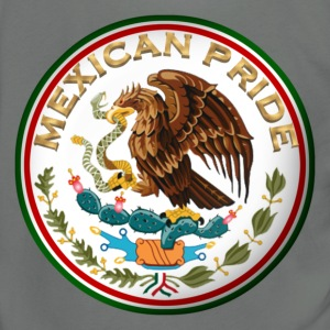 MEXICAN PRIDE - Unisex Fleece Zip Hoodie by American Apparel