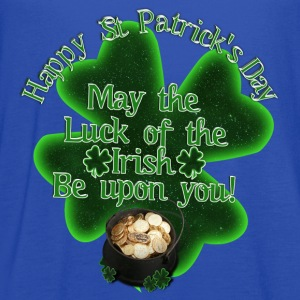 Happy St Patrick's Day - Pot of Gold - Women's Flowy Tank Top by Bella