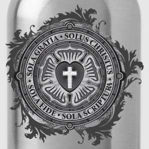Luther Rose - Gothic Black T-Shirts - Water Bottle