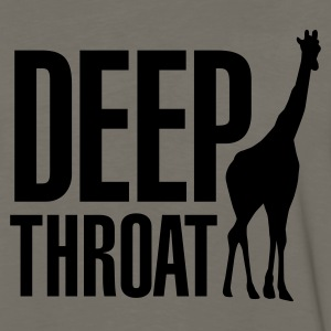 Deep throat T-Shirts - Men's Premium Long Sleeve T-Shirt