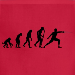 evolution of fencing T-Shirts - Adjustable Apron