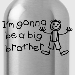 I'm gonna be a big brother Toddler Shirts - Water Bottle