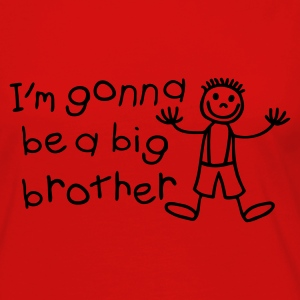 I'm gonna be a big brother Toddler Shirts - Women's Premium Long Sleeve T-Shirt