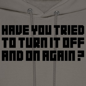 Turn it off T-Shirts - Men's Hoodie