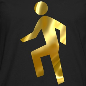 Everyday Im Shufflin gold 02 - Men's Premium Long Sleeve T-Shirt