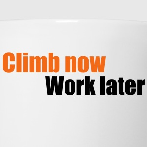 climb T-Shirts - Coffee/Tea Mug