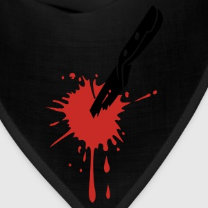 BLOOD KNIFE STAB - Bandana