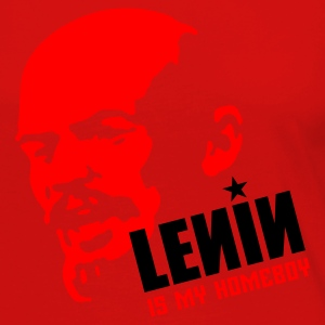 Lenin is my homeboy (place in white on red) T-Shirts - Women's Premium Long Sleeve T-Shirt