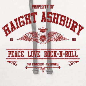 PROPERTY OF HAIGHT ASHBURY - Contrast Hoodie
