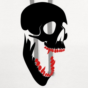 skull T-Shirts - Contrast Hoodie
