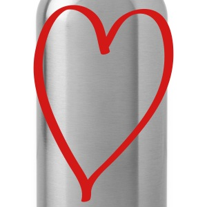 Heart Toddler Shirts - Water Bottle