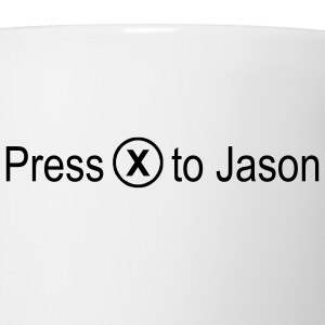 Press x to Jason - Coffee/Tea Mug