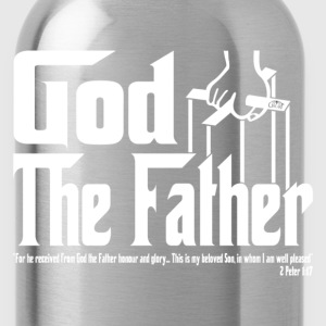 God The Father by GP Wear T-Shirts - Water Bottle