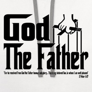 God The Father by GP Wear T-Shirts - Contrast Hoodie