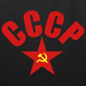 Black CCCP T-Shirt - Eco-Friendly Cotton Tote