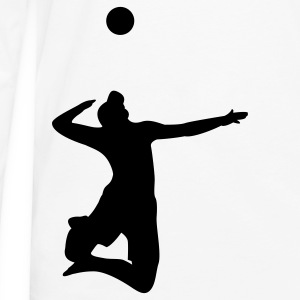 Volleyball Serve T-Shirts - Men's Premium Long Sleeve T-Shirt