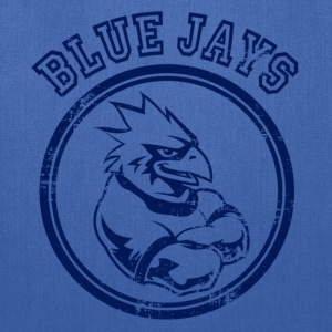 Custom Blue Jays Team Graphic Mascot Kids' Shirts - Tote Bag