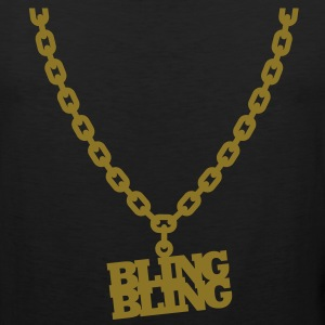 Bling Bling T-Shirts - Men's Premium Tank