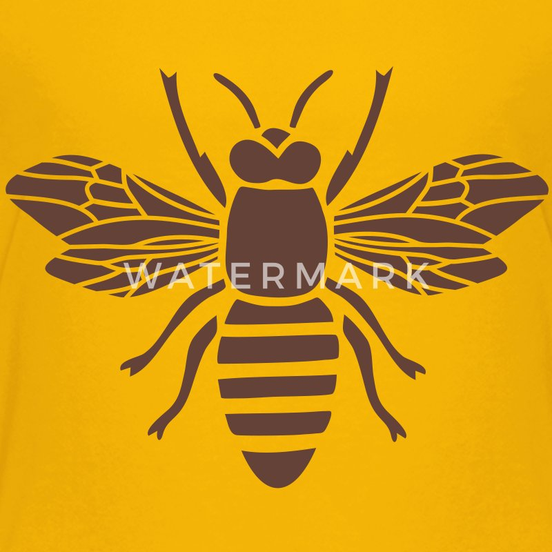 bee i love honey bumble bee honeycomb beekeeper wasp sting busy insect wings wildlife animal Kids' Shirts - Kids' Premium T-Shirt