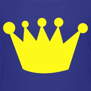 crazy funky uneven crown Kids' Shirts - Toddler Premium T-Shirt