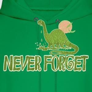 Never Forget Dino - Men's Hoodie