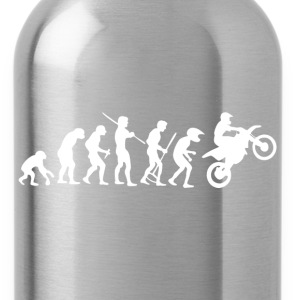 Motorcycle Rider Evolution Cross - Water Bottle