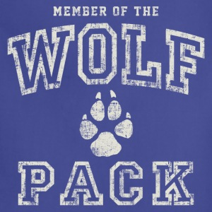 Wolf Pack Member T-Shirts - Adjustable Apron