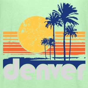 Palm Trees of Denver - Women's Flowy Tank Top by Bella