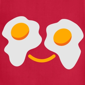 HAPPY EGG FACE T-Shirts - Adjustable Apron