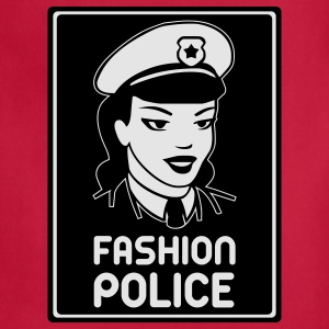 Fashion Police T-Shirts - Adjustable Apron