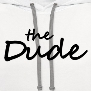 The Dude T-Shirts - Contrast Hoodie