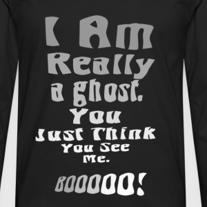 ghost T-Shirts - Men's Premium Long Sleeve T-Shirt