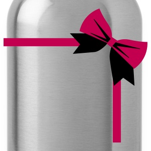 bow package on a rectangle birthday gift T-Shirts - Water Bottle