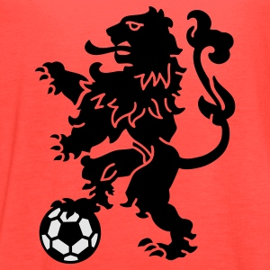 Dutch Lion Weapon with soccer ball T-Shirts - Women's Flowy Tank Top by Bella
