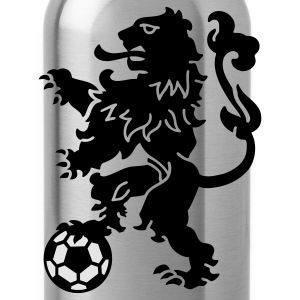 Dutch Lion Weapon with soccer ball T-Shirts - Water Bottle