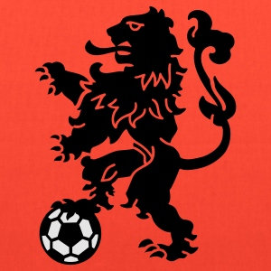 Dutch Lion Weapon with soccer ball T-Shirts - Tote Bag