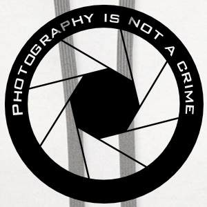 Photography is not a crime - Contrast Hoodie