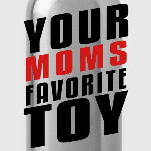 Your Moms Favorite Toy T-Shirts - Water Bottle