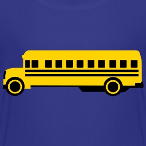 School bus Kids' Shirts - Toddler Premium T-Shirt