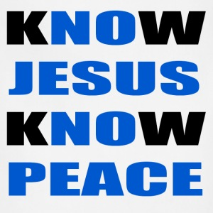 knowjesusknowpeace T-Shirts - Adjustable Apron