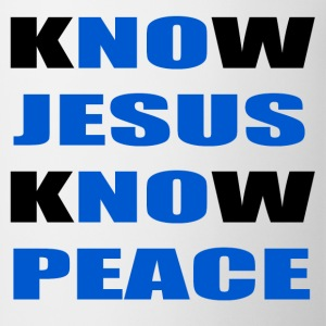 knowjesusknowpeace T-Shirts - Coffee/Tea Mug