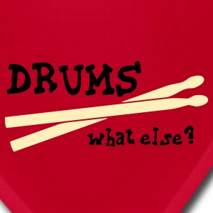 Drums, what else? T-Shirts - Bandana