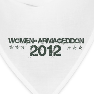 Women of Armageddon Logo - Militia Green T-Shirts - Bandana