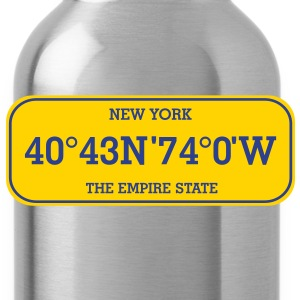 new_york_licence_plate T-Shirts - Water Bottle