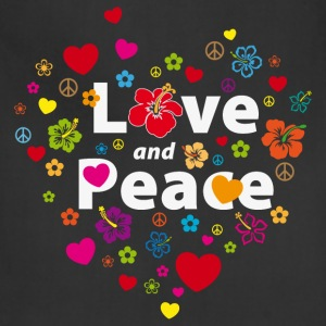 love_and_peace T-Shirts - Adjustable Apron
