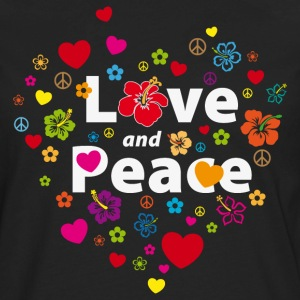 love_and_peace T-Shirts - Men's Premium Long Sleeve T-Shirt