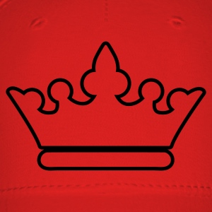 crown outline fancy for royalty T-Shirts - Baseball Cap