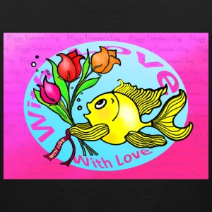 Valentine Day Fish - Men's Premium Tank