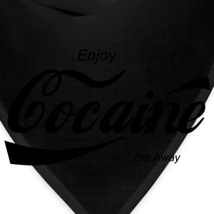 enjoy cocaine T-Shirts - Bandana